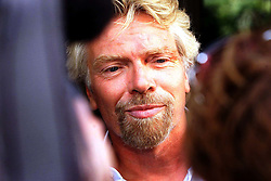 Sir Richard Branson outside the Lottery Commission after a meeting with them. Photo by Andrew Parsons/i-Images.All Rights Reserved ©Andrew Parsons/i-images.See Instructions.