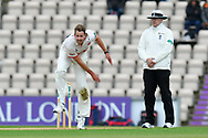 Matt Quinn of Essex bowling during the first day of the Specsavers County Champ Div 1 match between Hampshire County Cricket Club and Essex County Cricket Club at the Ageas Bowl, Southampton, United Kingdom on 5 April 2019.