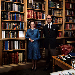 File photo dated 26/9/1976 of the Queen and Duke of Edinburgh during their traditional summer break at Balmoral Castle. The Duke of Edinburgh has died, Buckingham Palace has announced. Issue date: Friday April 9, 2020.. See PA story DEATH Philip. Photo credit should read: PA Wire