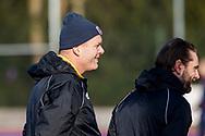 BILTHOVEN -  Hoofdklasse competitiewedstrijd dames, SCHC v hdm, seizoen 2020-2021.<br /> Foto: Scheidsrechters