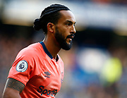 Everton's Theo Walcott during an English Premier League soccer match between Chelsea and Everton at Stamford Bridge stadium, Sunday, March 8, 2020, in London, United Kingdom. Chelsea defeated Everton 4-0. (Mitchell Gunn-ESPA Images/Image of Sport via AP)