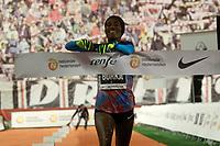 Gelete Burka, winner in the San Silvestre Vallecana 2017. December 31,2017. (ALTERPHOTOS/Acero)