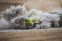 AREQUIPA, Jan. 11, 2019  Dutch driver Michiel Becx and co-driver Edwin Kuijpers compete during the 4th stage of the 2019 Dakar Rally Race, near La Joya, Arequipa province, Peru, on Jan. 10, 2019. (Credit Image: © Xinhua via ZUMA Wire)