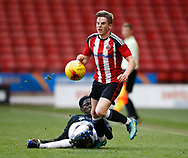 Rhys Norrington-Davies of Sheffield Utd during the U18 Professional Development League 2 play off semi final match at  Bramall Lane, Sheffield. Picture date: April 21st 2017. Pic credit should read: Simon Bellis/Sportimage