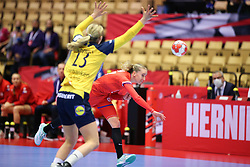 HERNING, DENMARK - DECEMBER 3, 2020: during the EHF Euro 2020 Group C match between Sweden and Czech Republic in Jyske Bank Boxen, Herning, Denmark on December 3 2020. Photo Credit: Allan Jensen/EVENTMEDIA.