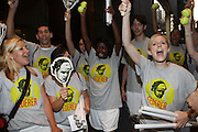 Atmosphere at the Don King and Nike presentation(press conference) ' Grapple in the Apple '  with Roger Federer and Raphael Nadal at The Madarin Oriental Hotel (North Salon) on August 21, 2008 in New York City