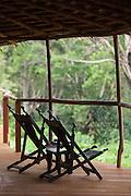 Deckchairs at the Ngaga Camp.