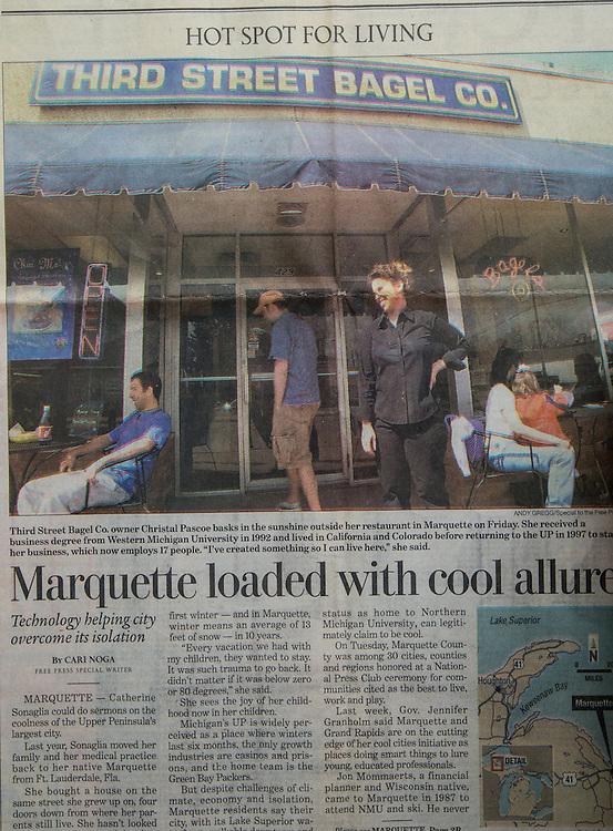 Detroit Free Press - April 21, 2004