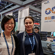 China - ONEINFITECH exhibition at London Tech Week at Excel London,on 12 June 2019, UK