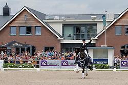 Schneider Dorothee, GER, Sezuan<br /> World Championship Young Dressage Horses <br /> Ermelo 2016<br /> © Hippo Foto - Leanjo de Koster<br /> 29/07/16