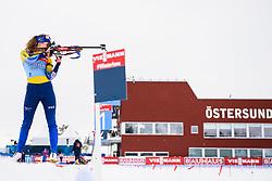 March 9, 2019 - –Stersund, Sweden - 190309 Hanna Öberg of Sweden at the women's training session during the IBU World Championships Biathlon on March 9, 2019 in Östersund..Photo: Petter Arvidson / BILDBYRÃ…N / kod PA / 92250 (Credit Image: © Petter Arvidson/Bildbyran via ZUMA Press)
