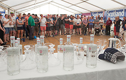 Sailing - SCOTLAND  - 28th May 2018<br /> <br /> Final days racing the Scottish Series 2018, organised by the  Clyde Cruising Club, with racing on Loch Fyne from 25th-28th May 2018<br /> <br /> Prizegiving, Botanist<br /> <br /> Credit : Marc Turner<br /> <br /> Event is supported by Helly Hansen, Luddon, Silvers Marine, Tunnocks, Hempel and Argyll & Bute Council along with Bowmore, The Botanist and The Botanist