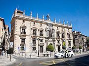 Real Chancilleria, Royal Chancellory building, in Plaza Neuva, Granada, Spain