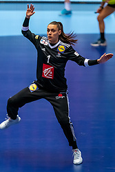 Laura Glauser of France in action during the Women's EHF Euro 2020 match between France and Russia at Jyske Bank BOXEN on december 11, 2020 in Kolding, Denmark (Photo by RHF Agency/Ronald Hoogendoorn)