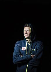 """21.10.2014, das kleine Berghotel, Riezlern, AUT, OESV, Nordische Kombinierer, Fotoshooting, im Bild Harald Lemmerer (AUT) // Harald Lemmerer of Austria during the Photoshooting of the Ski Austria Nordic Combined Team at """"das kleine Berghotel"""", Riezlern, Austria on 2014/10/21. EXPA Pictures © 2014, PhotoCredit: EXPA/ JFK"""