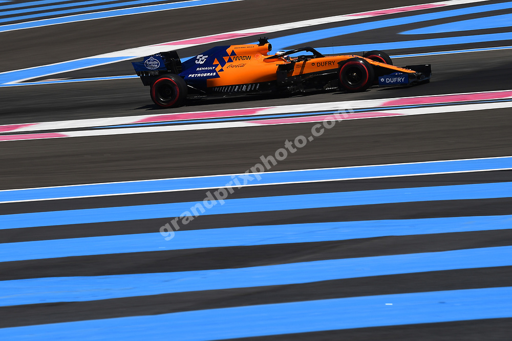 Carlos Sainz Jr (McLaren-Renault) during practice for the 2019 French Grand Prix at Paul Ricard. Photo: Grand Prix Photo