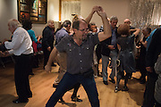 Soho Society Silver Sunday Tea Dance, St. Anne's Church Hall, Soho, London. 2 October 2016
