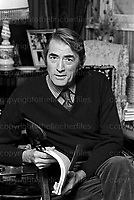 American actor Gregory Peck on a visit to London with his wife Veronique Peck formerly Veronique Passani 1973. Peck starred in Hollywood movies including 'To Kill a Mocking Bird' and 'The Omen' plus many more. He married Veronique Passani a French-American arts patron, philanthropist and journalist in 1955 and remained together until his death in 2003.Photographed by Terry Fincher