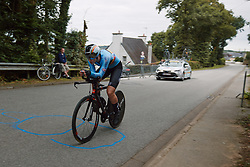 Marith Vanhove (BEL) at the 2020 UEC Road European Championships - Junior Women ITT, a 25.6 km individual time trial in Plouay, France on August 24, 2020. Photo by Sean Robinson/velofocus.com