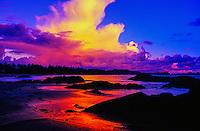 Chesterman Beach (near Wickaninnish Inn), near Tofino, west coast of Vancouver Island, British Columbia, Canada
