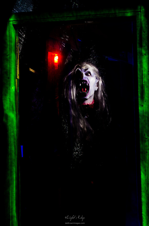 Another of the charming characters encountered in Monster Martin's 2011 House of Terror.
