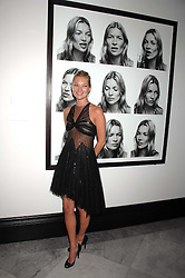 KATE MOSS at the opening party for 'Face of Fashion' an exhibition of photographs by five of the World's leading fashion photographers held at the National Portrait Gallery, St.Martin's Lane, London on 12th February 2007.<br /><br />NON EXCLUSIVE - WORLD RIGHTS