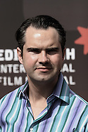 Guests arrive at Cineworld for an exclusive industry screening of Paul Provenza and Penn Jillette's new film The Aristocrates. Pictured is British comedian Jimmy Carr. The 59th Edinburgh International Festival ran from 17-28 August..