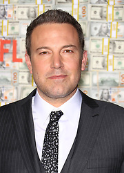 """Ben Affleck at the premiere of """"Triple Frontier"""" in New York City."""