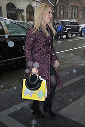 February 20, 2019 - New York, NY, USA - February 20, 2019 New York City..Guests arrive to Meghan Markle's baby shower on February 20, 2019 in New York City. (Credit Image: © Kristin Callahan/Ace Pictures via ZUMA Press)