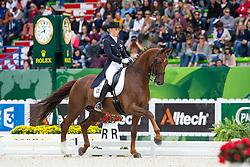 Fabienne Lutkemeier, (GER), D'Agostino FRH - Grand Prix Special Dressage - Alltech FEI World Equestrian Games™ 2014 - Normandy, France.<br /> © Hippo Foto Team - Leanjo de Koster<br /> 25/06/14