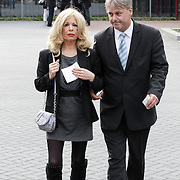 NLD/Bilthoven/20120618 - Uitvaart Will Hoebee, Bonnie St. Claire en partner Anne-Jan Jongbloed