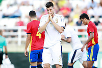 Italy's Cerri dejected during international sub 21 friendly match. September 1,2017.(ALTERPHOTOS/Acero)
