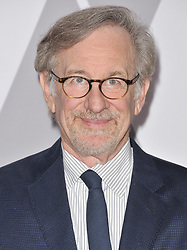 Steven Spielberg arrives at the 90th Annual Academy Awards Nominee Luncheon held at the Beverly Hilton in Beverly Hills, CA on Monday, February 5, 2018. (Photo By Sthanlee B. Mirador/Sipa USA)