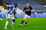 Millwall forward Jon Dadi Bodvarsson (22) in action  during the EFL Sky Bet Championship match between Huddersfield Town and Millwall at the John Smiths Stadium, Huddersfield, England on 20 January 2021.