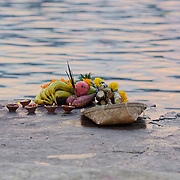 Offering at lal Ghat