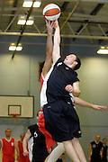 UK - Tuesday, Nov 18 2008:  Tip off during Barking and Dagenham Erkenwald Basketball Club's Essex Basketball League game against Brightlingsea Sledgehammers. Erks won the game 91 - 86. (Photo by Peter Horrell / http://www.peterhorrell.com)
