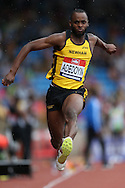 Kola Adedoyin competing in the Men's Triple Jump Final. The British Championships 2016, athletics event at the Alexander Stadium in Birmingham, Midlands  on Saturday 25th June 2016.<br /> pic by John Patrick Fletcher, Andrew Orchard sports photography.