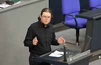 DEU, Deutschland, Germany, Berlin, 01.10.2020: Norbert Müller (DIE LINKE) bei seiner Rede während der Haushaltsdebatte im Plenarsaal des Deutschen Bundestags.