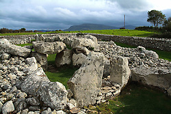 July 21, 2019 - Creevykeel Pre-Historic Burial Site Near Cliffony, Sligo, Ireland (Credit Image: © Peter Zoeller/Design Pics via ZUMA Wire)