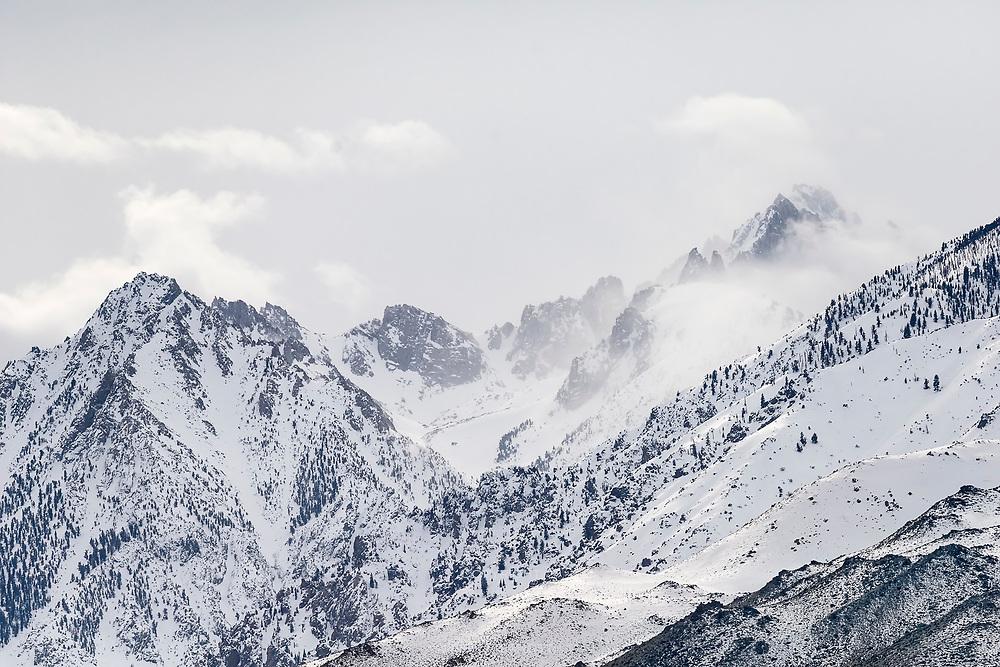 Winter Blankets the Sierra Nevada