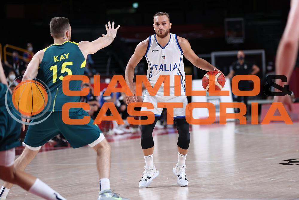 Tonut Stefano<br /> Italia Italy - Australia Australia<br /> Olimpiadi Estive Tokyo 2020 - Fase a Gironi<br /> 2020 Summer Olympic Games - Group Phase<br /> Tokyo, 28/07/2021<br /> Foto A.Mehryar / Ciamillo-Castoria