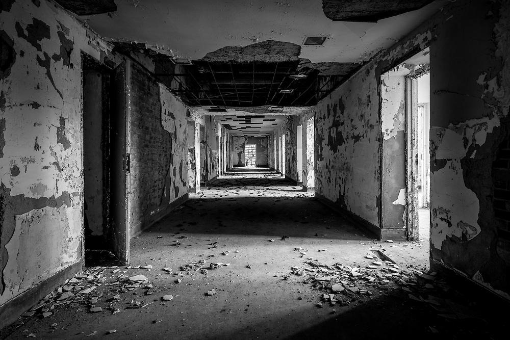 The historic Trans-Allegheny Lunatic Asylum in Weston, West Virginia
