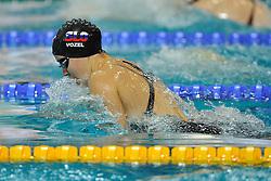 02-12-2011 ZWEMMEN: OPEN DUTCH NATIONAL CHAMPIONSHIPS: EINDHOVEN.Tjasa Vozel SLO on the 100m breaststroke.©2011-FotoHoogendoorn.nl. /  Sportida.com