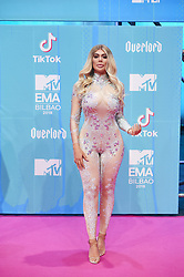 November 4, 2018 - Madrid, Madrid, Spain - DChloe Ferry attends the 25th MTV EMAs 2018 held at Bilbao Exhibition Centre 'BEC' on November 4, 2018 in Madrid, Spain (Credit Image: © Jack Abuin/ZUMA Wire)