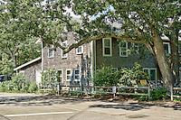 Tabernacle House at Oak Bluffs Martha's Vineyard,Massachusetts, USA.