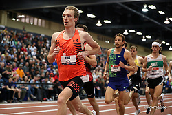 2020 USATF Indoor Championship<br /> Albuquerque, NM 2020-02-15<br /> photo credit: © 2020 Kevin Morris<br /> mens 3000m, Under Armour