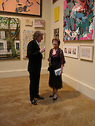 Sir Paul Smith and Joan Bakewell. Royal Academy Annual dinner to celebrate the opening of the Summer exhibition. Royal Academy. Piccadilly. London. 1 June 2005.  ONE TIME USE ONLY - DO NOT ARCHIVE  © Copyright Photograph by Dafydd Jones 66 Stockwell Park Rd. London SW9 0DA Tel 020 7733 0108 www.dafjones.com