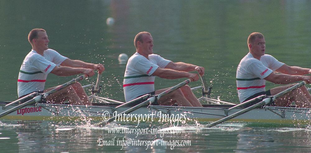 Lucerne, Switzerland. 1995 FISA WC III, Lake Rotsee, Lucerne,<br /> <br /> [Mandatory Credit. Peter SPURRIER/Intersport Images]<br /> <br /> Image scanned from Colour Negative