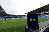 Football - 2018 / 2019 Premier League - Cardiff City vs. Leicester City<br /> <br /> View of the ground with Match day programme in foreground,  in Leicster's 1st match since the death of Vichai Srivaddhanaprabha, at Cardiff City Stadium.<br /> <br /> COLORSPORT/WINSTON BYNORTH
