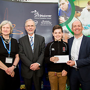 27.04.2016.          <br />  Kalin Foy and Ciara Coyle win SciFest@LIT<br /> Kalin Foy and Ciara Coyle from Colaiste Chiarain Croom to represent Limerick at Ireland's largest science competition.<br /> <br /> Glenstal Abbey School student, Ivor Larkin's project, The Effects of Microgravity on Microorganisms, was Junior First in the Life Sciences Category. Ivor Larkin is pictured with George Porter, SciFest and Brian Aherne, Intel<br /> <br /> Of the over 110 projects exhibited at SciFest@LIT 2016, the top prize on the day went to Kalin Foy and Ciara Coyle from Colaiste Chiarain Croom for their project, 'To design and manufacture wireless trailer lights'. The runner-up prize went to a team from John the Baptist Community School, Hospital with their project on 'Educating the Youth of Ireland about Farm Safety'. Picture: Fusionshooters